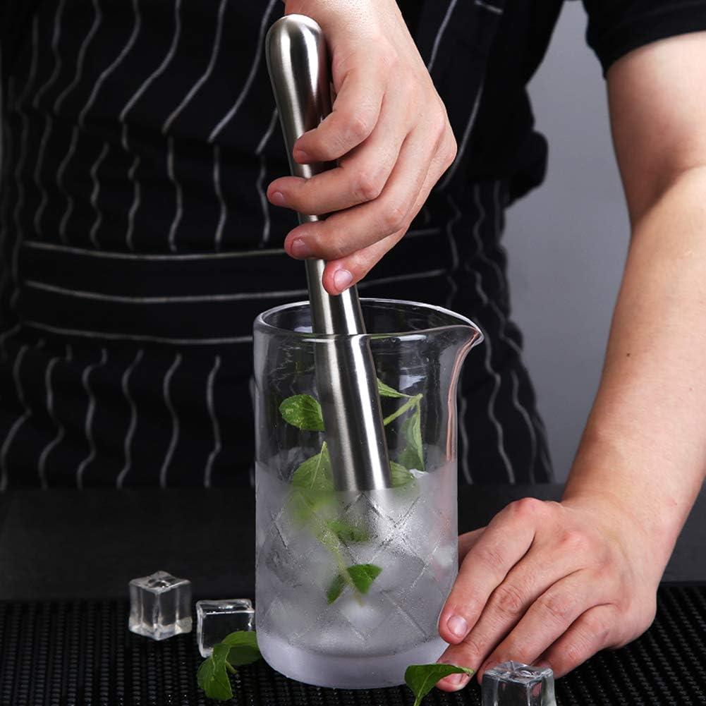 8 8 Long Stainless Steel Cocktail Muddlers Muddler
