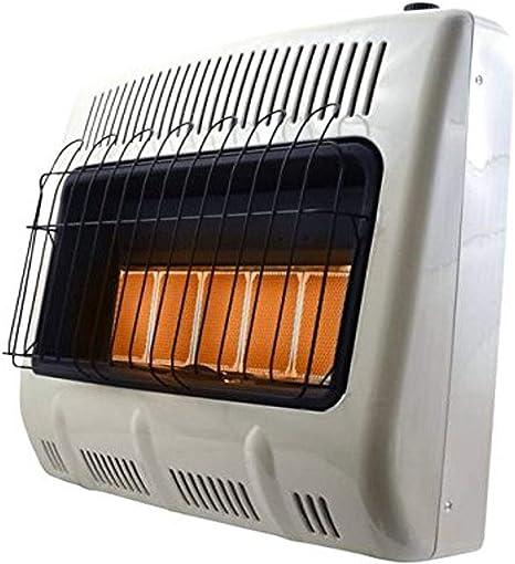 Mr. Heater Corporation F299831 Vent-Free 30,000 BTU Radiant Natural Gas Heater, Multi: image
