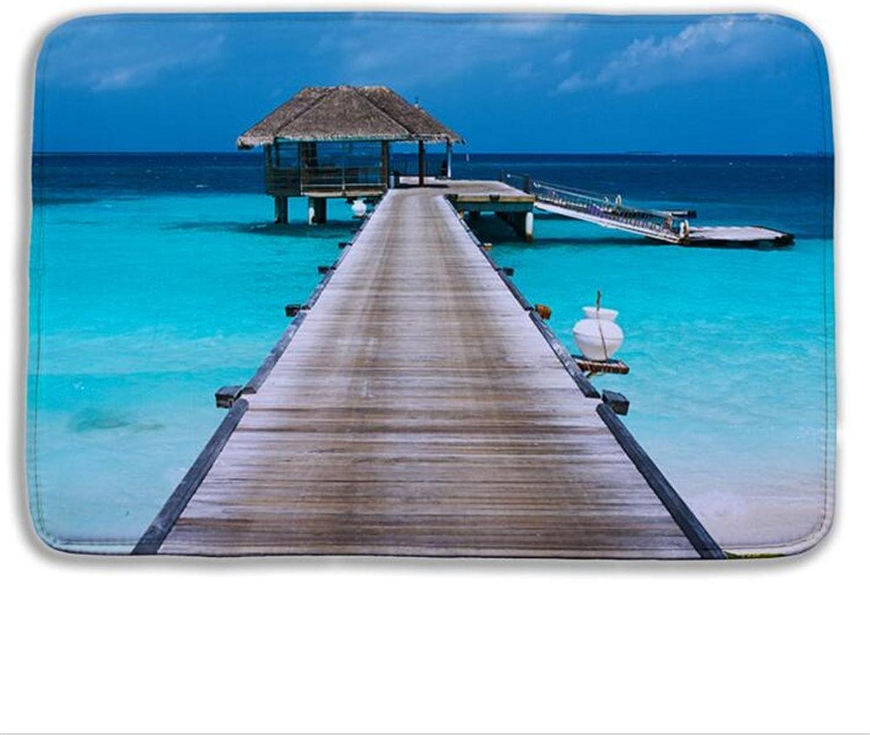 Generic Typ 17, 400 x 60 cm cm cm  Sandy Beach Dusche Matte 3D für WC-Schloss Vielzahl von Mustern Badematte für Wohnzimmer Bodenmatten Küche Teppiche B073Y5XB1V 4b638f