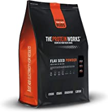 THE PROTEIN WORKS Pure Flax Seed Powder 100 Natural Vegan Nutrient-Dense Unflavoured 500 g Estimated Price : £ 17,99