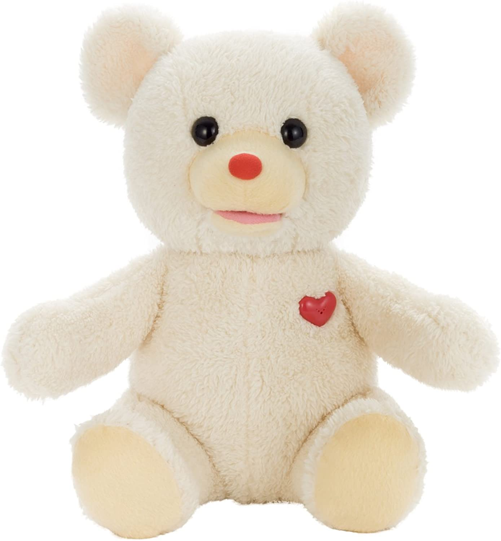 Bear-chan vanilla Weiß stuffed toy of the secret sitting height 23cm