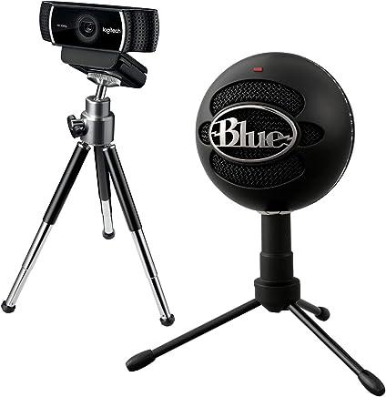 Kit per i Professionisti dello Streaming - Microfono USB Blue Yeti + Logitech C922 Pro Stream Webcam, Streaming Full HD 1080p con Treppiede e Licenza XSplit, Nero - Trova i prezzi più bassi