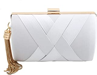 83aa88c51f Amazon.com: Whites - Evening Bags / Clutches & Evening Bags ...