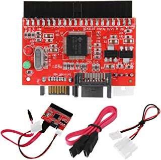 HiLetgo IDE to SATA SATA to IDE ATA ATAPI Serial HDD Mutual Converter Adapter with Cable