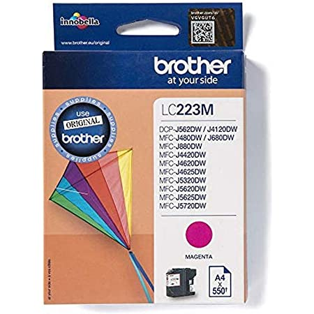 Brother Original Tintenpatrone Lc 221y Gelb Kompatibel Mit Brother Dcp J562dw Mfc J480dw Mfc J680dw Mfc J880dw Bürobedarf Schreibwaren