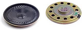 Cylewet 2Pcs Diameter 5cm 8ohm 0.5W Loudspeaker Woofer Small Speaker for Arduino (Pack of 2) CYT1025