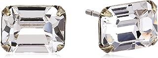 Sorrelli Mini Emerald Cut Stud Earring