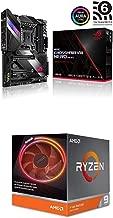 ASUS ROG X570 Crosshair VIII Hero (Wi-Fi) ATX Motherboard and AMD Ryzen 9 3900X 12-core, 24-Thread
