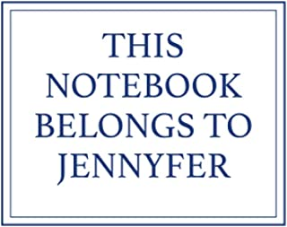 This Notebook Belongs to Jennyfer