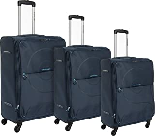 كاميلينت حقائب سفر بعجلات 3 قطع , ازرق داكن , FE501004-BLUE