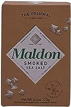 Maldon Salt Company, Smoked Sea Salt, (125 gram box), 0.27 Pound (1 Count)