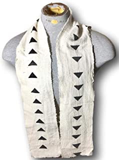 Exclusive African Mud Cloth Kente Print Scarf Stole Style 8