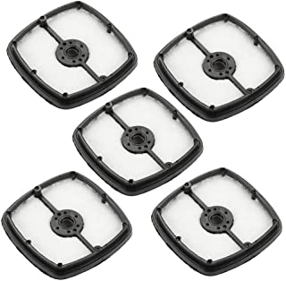 Set of 5 Pcs Air Filter for Echo SRM210 SRM225 HC150 Trimmer Blower Replace 13031054130, A226001410 (Black & White)