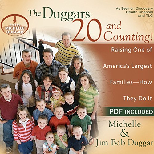 The Duggars: 20 and Counting! audiobook cover art