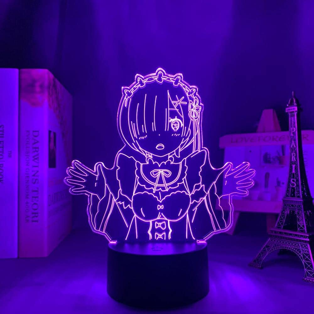 Anime Led Night Light Re Zero in Ranking TOP5 Another Nig OFFicial Life World Starting