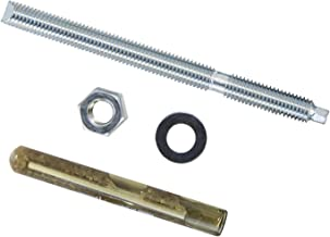 Hek direct 20-delige set I ankerstang + cartridge composietanker I M10 x 130 mm I verzinkt I heavy-duty pluggen I schroefd...
