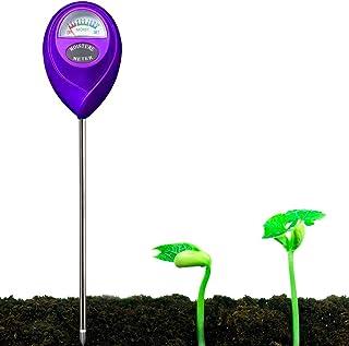 YUIDDA Soil Moisture Meter, Plant Water Meter Soil Thermometer Soil Tester Kit for Plant Gardening Farming No Battery Need...