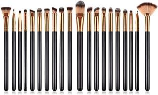 Yansyuionghzs Blush Brush, 20 Pcs Beauty Makeup Brushes Set Cosmetic Brush Powder Foundation Blush Eye Shadow Lashes Make ...