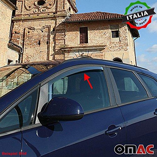 OMAC Renault Megane Coupe 3 TRG Windabweiser Regenabweiser 2 TLG Satz vorne ab 2008