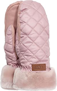 UGG W Quilted Performance Mitten with Tech Thumb