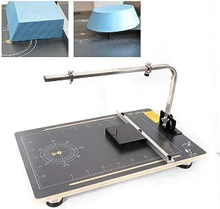 Máquina de cortar 24 W 220 V/50-300 ℃, temperatura ajustable, cortador de poliestireno 380 x 580 mm para espuma de corte, ...