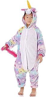 a0d0ea1cca477 ABYED Enfants Adulte Unisexe Animal Costume Cosplay Combinaison Licorne  Pyjama Nuit Vêtements Soirée de Licorne