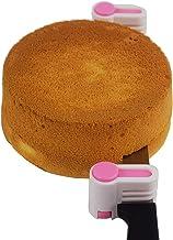 2PCS DIY Cake Slicer, Stratification Auxiliary, Bread Slice, Toast Cut, 5 Layers Leveler Slicer, Kitchen Fixator Tool (2, ...