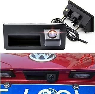 Tailgate Trunk Handle Back up Reverse Rear View Parking Camera for Audi A4(8K)/A4 B6/A4 B8/A5/S4 B8/S5 (8T),Jetta SE/Jetta MK6,VW Passat B5/B6/B7,VW Tiguan Touareg/VW Golf 6 Plus