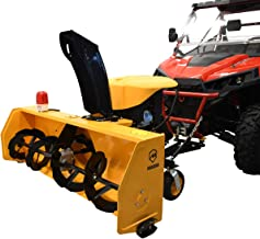 "Massimo 60"" 60in 420cc 2 Stage Snow Blower for UTV/ATV Side X Side w/Polaris + Universal Attachment"