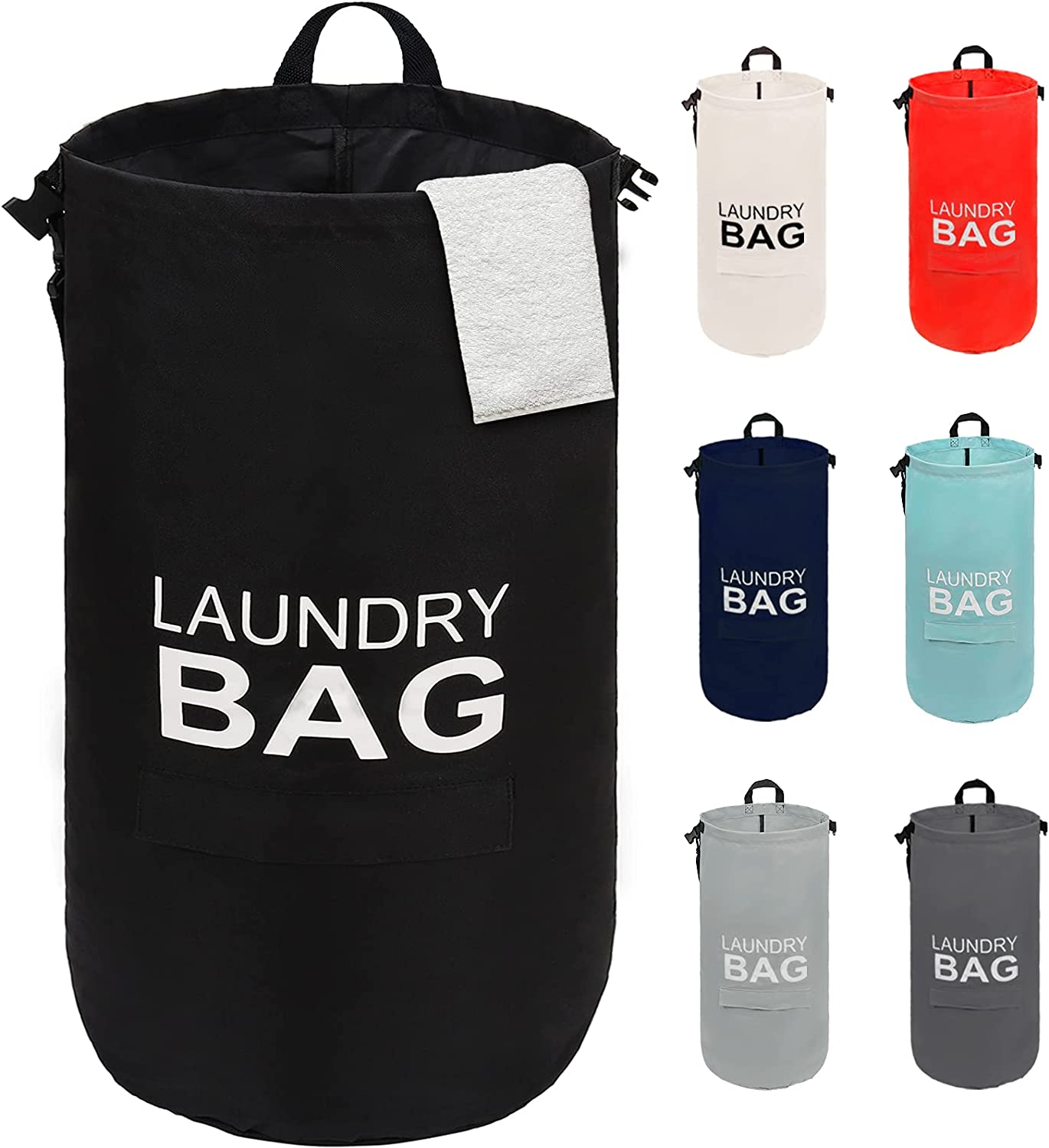 28 Inches discount Laundry Baskets Collapsible Spring new work Large Basket Door