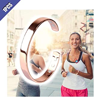 Comidox 1Pcs Magnetic Copper Bracelet with 6 Powerful Magnets Healing Bio Therapy Arthritis Pain Relief RSI Carpal Tunnel ...