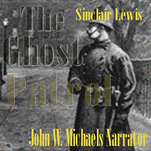 The Ghost Patrol audiobook cover art