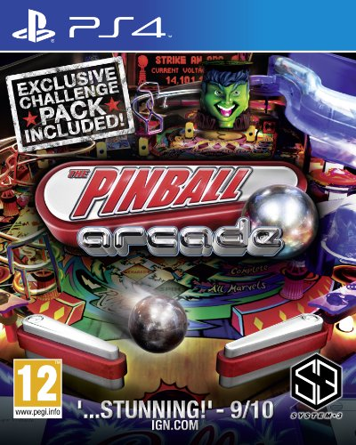 The Pinball Arcade (Exclusive Chalenge Pack Included) PS4 [