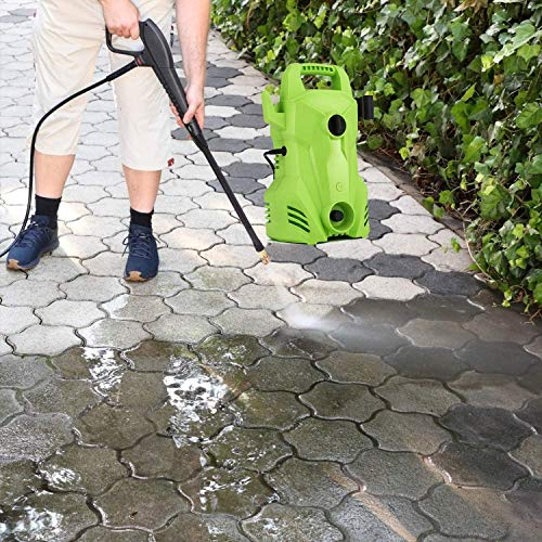 Homdox Pressure Washer 2300 PSI, 1500W 1.6 GPM Portable Electric Power Washer Machine for 3 Nozzles&Detergent Bottle