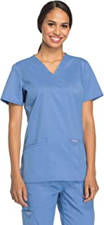 Cherokee Workwear Revolution Women`s V-Neck Scrub Top