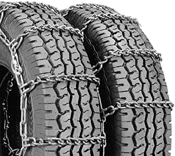 Security Chain Company QG4221CAM Quik Grip Type CAM-DT Light Truck Dual and Triple Tire Traction Chain - Set of 2: image