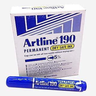 معلم  مقاس 5ملم، لون أزرق، علبة 12 قلم من ارتلاين EK-190