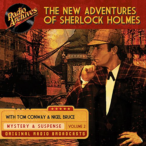 The New Adventures of Sherlock Holmes, Volume 2 audiobook cover art