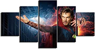 Wall Decor 5 Panels Doctor and Strange Wall Art Pictures Canvas Painting Hd Prints and Posters for Living Room Home Decoration Artwork