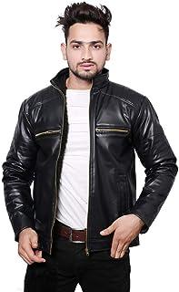 nida Men's & Boy's Solid Regular Jacket (rat-006_Black_Large)