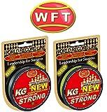 WFT KG STRONG 150m 0,12mm 15kg, geflochtene Schnur, Meeresschnur, Angelschnur, Geflechtschnur,...