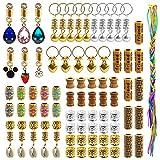 116 Pieces Dreadlock Loc Jewelry Dreadlocks...