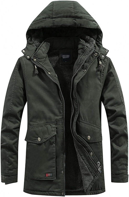 Men Winter Warm Parkas Jacket Men Military Coat Cotton Casual Thick Men Windproof Hooded Jackets