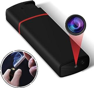 小型カメラ 電子ライター 超小型防犯監視ビデオカメラ ミニカメラ 赤外線暗視 1080P高画質 長時間録画 隠し マイクロ スパイカメラ USB充電【2019最新版】