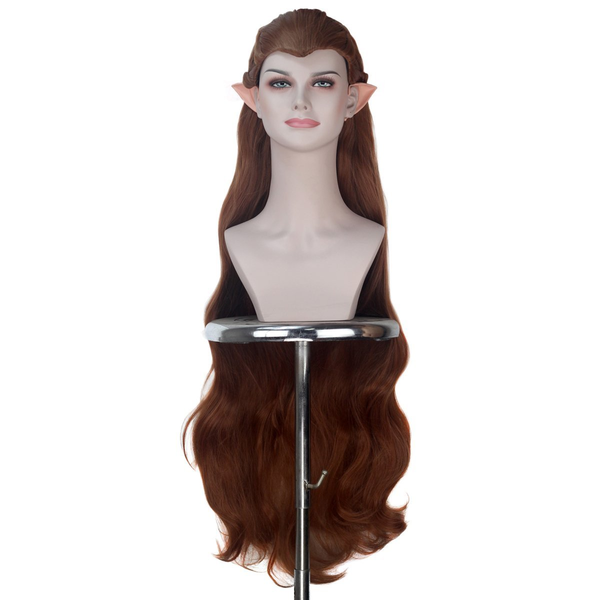 Women Extra Long New Shipping Free Brown Braided Wavy H Cosplay Hair Costume Party Free Shipping Cheap Bargain Gift