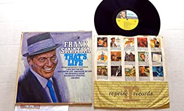 Frank Sinatra Used Vinyl LP Record That's Life - Reprise Records 1966 - 1966 Reissue Pressing FS-1020 STEREO - The Impossible Dream - Somewhere My Love - What Now My Love - Sand And Sea