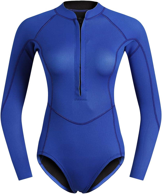 P P P Prettyia Premium 2mm Neoprenanzug Langarm Schwimmanzug Einteile Badeanzug Swimsuit Sportbadeanzug mit Reißverschluss für Frauen B07JHTN541  Verbraucher zuerst 88b079