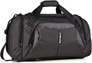SPORT Duffel Bag for Travel Sport Gym Water Resistant Carry on 40 L
