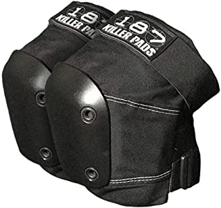 187 Slim Knee Pads Black/Black MD