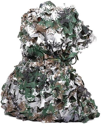 DLLzq Filet De Camouflage pour Enfants Tissu Oxford Camouflage pour Le Tir Militaire De Chasse Militaire,A-10M×10M